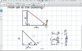 trigonometric ratios in right triangles worksheet adding integer