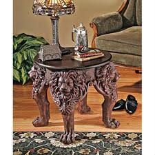 animal leg side table animal tables tables furniture design toscano
