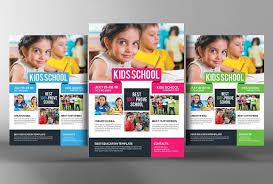 school brochure design templates child development school flyer flyer templates creative market