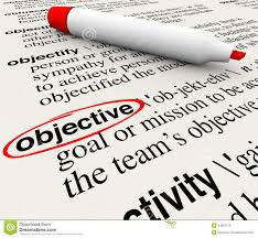 Challenge Dictionary Objective Mission Goal Dictionary Word Definition Circled Stock