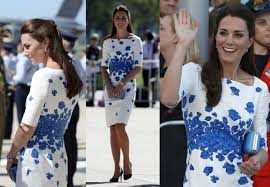 kate middleton takes australia in style with bright summer dresses
