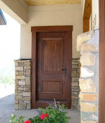 apartments amazing wooden front door casing style with brick