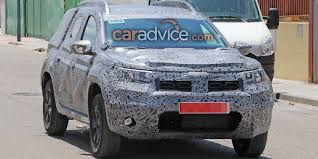 renault duster 2018 dacia duster spied