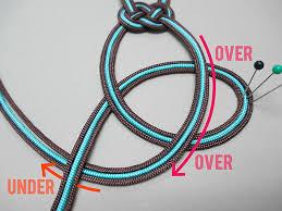 knotting cord chocolate mint swirl bracelet artbeads