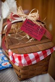 picnic gift basket sweet summer watermelon to cool guests photo by kristyn