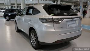 harrier lexus interior toyota harrier 2014