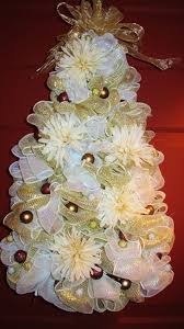 white deco mesh gorgeous white and gold deco mesh treeit can sit deco mesh