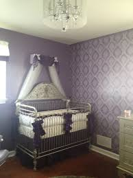 Gray And Purple Bedroom by Project Nursery Purple Nursery Crib Canopy Nursery