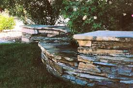 garden wall handmade double faced dry stack garden wall by stonedancer inc