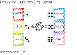 printable question dice answering questions dice game and giveaway
