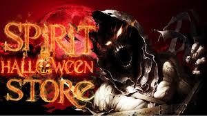the spirit of halloween store the spirit halloween store youtube