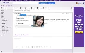 Email Yahoo Bringing The Power Of Linkedin Into Your Yahoo Mail Experience