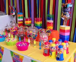 Birthday Candy Buffet Ideas by Candy Buffet