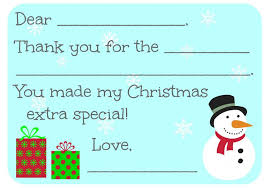 christmas thank you cards 16 free printable christmas thank you cards