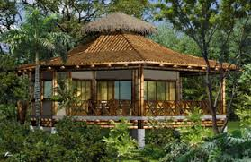 Native House Design Octagonal Bamboo House Guadua Bamboo House In Costa Rica Home