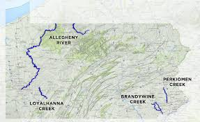 Erie Pennsylvania Map by 2017 River Of The Year Voting Begins Today U2013 Pennsylvania River
