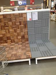 How To Lay Ikea Laminate Flooring Ikea Deck Tiles Patio Pick Me Up Pinterest Decking Patios