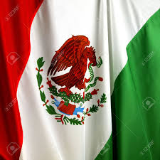 Mecican Flag Macro Shot Of Wavy Mexican Flag Stock Photo Picture And Royalty