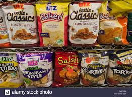 Cape Cod Russet Potato Chips - potato chips bags in a supermarket in toronto canada stock photo