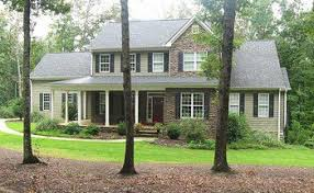 house plans with porches 3 story 5 bedroom home plan with porches southern house plan