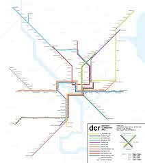 Wmata Map Metro by Submission Fantasy Map Dc Commuter Rail By Nick Transit Maps