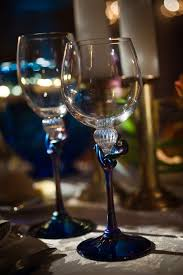 Hand Blown Wine Glasses by Real Stories A Collaboration Of Artistry At The Ritz Carlton