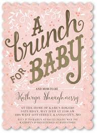 baby shower brunch invitations seven things to include on your baby shower invites shutterfly
