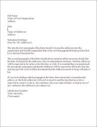 formal business letters templates writing a formal business letter templates franklinfire co