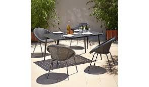 5 piece patio table and chairs jarvis 5 piece patio set home garden george at asda
