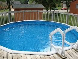 swimming pool wonderful backyard decoration using round inground
