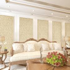 aliexpress com buy modern 3d embossed flower wallpaper pvc