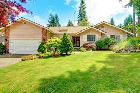 Beautiful Front Yard Landscaping - house exterior with entrance porch beautiful front yard landscape