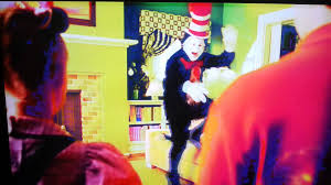 cat in the hat fix the sofa and jumping on it youtube