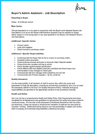 Job Description Resume Retail by Retail Buyer Resume Resume For Your Job Application
