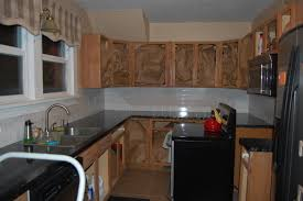 How To Remodel Kitchen Cabinets Yourself by Cabinets U0026 Drawer Restaining Kitchen Cabinets Restoring Oak How