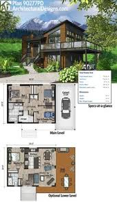 modern home floorplans plan 80878pm dramatic contemporary with second floor deck