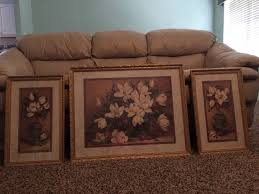 Cuadros De Home Interiors by Set Of 3 Framed Magnolia Pictures From Home Interior For Sale In