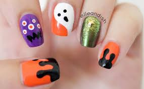 cute halloween nail art image collections nail art designs