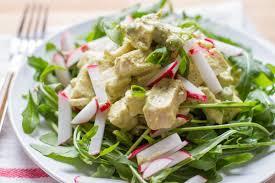 sous vide pesto chicken salad