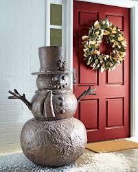 outdoor snowman