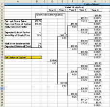 Business Valuation Excel Template How To Excel At Options Valuation