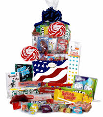 candy gift basket retro candy gifts and vintage candy assortments patriotic usa