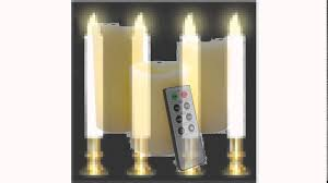 home decoration idea decorating chic flameless candles with timer for home decoration
