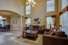 traditional living room with columns u0026 concrete tile in san