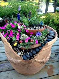 pots in gardens ideas you know all those broken terracotta pots you u0027ve thrown away they