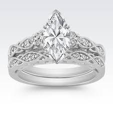 marquise cut wedding set topp 25 ideer om marquise wedding set på klassiske