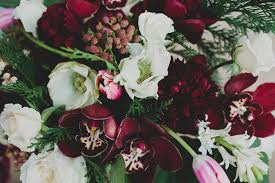Floral Centerpieces Diy Winter Floral Centerpiece With Pops Of Marsala Green