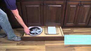medallion cabinetry toe kick drawer kitchen storage part 11