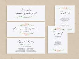 wedding seating chart template seating plan seating chart cards