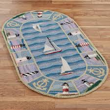 Round Bath Rugs New Colonial Lighthouse Round Rugs
